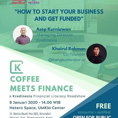 """Coffee Meets Finance """"How to Start Your Business and Get Funded"""""""
