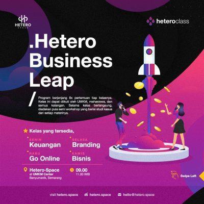 Hetero Business Leap